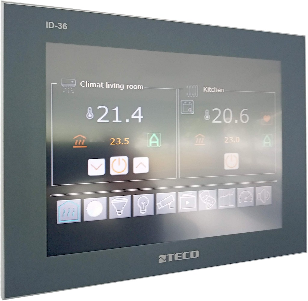 ID-36 Operation panel, resistive touch screen