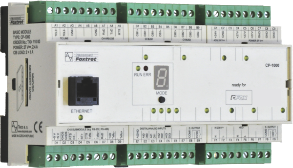 Cp 1000 Basic Modules Plc Tecomat Foxtrot Products