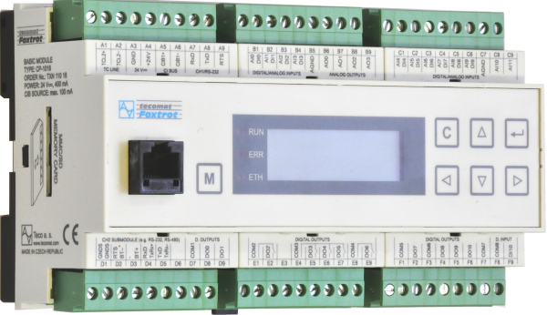 Cp 1018 Basic Modules Plc Tecomat Foxtrot Products