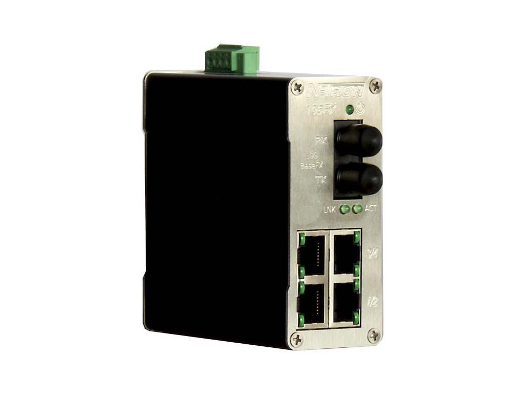 105FX-ST - Průmyslový Ethernet Switch