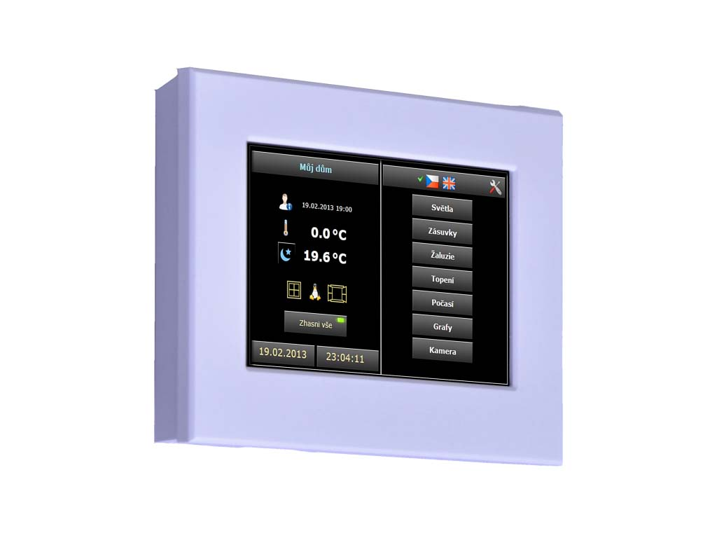 ID-31, On wall touch panel capacitive-2