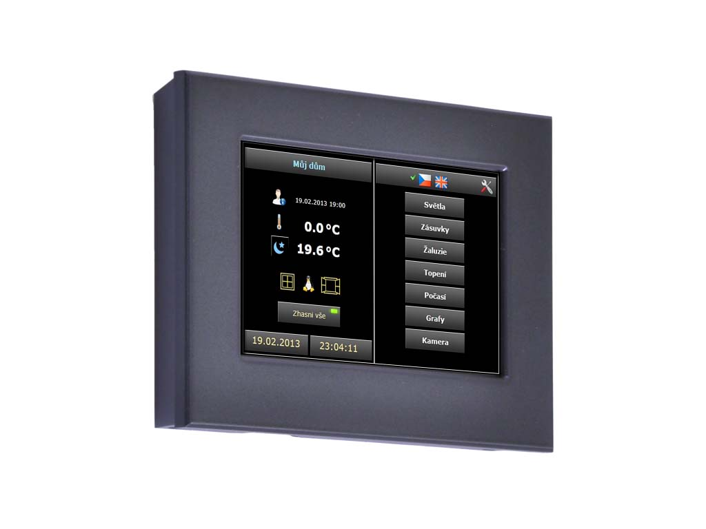 ID-31, On wall touch panel capacitive